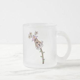 Birdhous and Flowers Coffee Mug