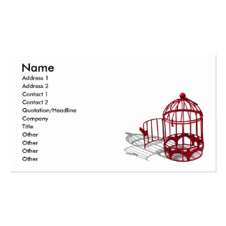 BirdHouse092110, Name, Address 1, Address 2, Co... Double-Sided Standard Business Cards (Pack Of 100)