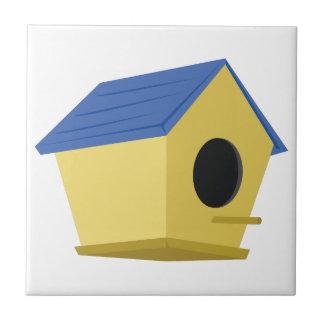Birdhouse Azulejo Cuadrado Pequeño