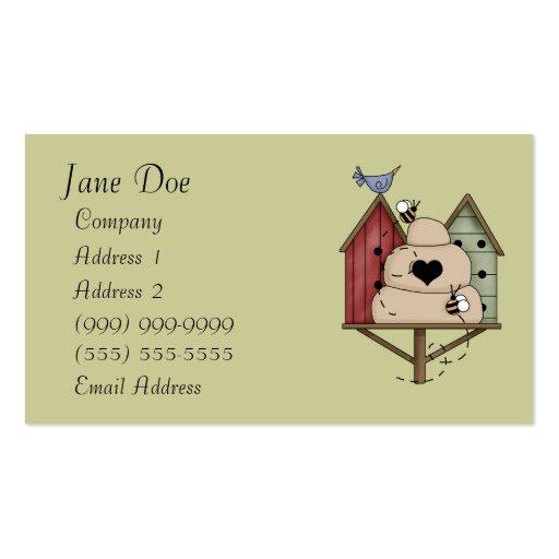 Birdhouse Business Cards