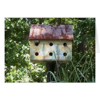 Birdhouse Card