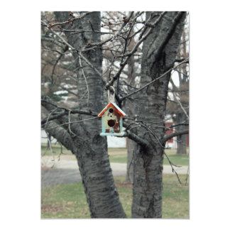 Birdhouse Card