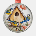 Birdhouse Christmas Tree Ornament
