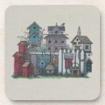 Birdhouse Collection Beverage Coaster