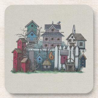 Birdhouse Collection Beverage Coaster