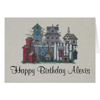 Birdhouse Collection Card