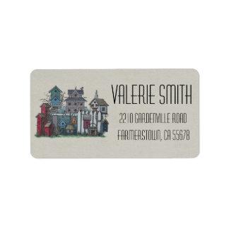 Birdhouse Collection Label