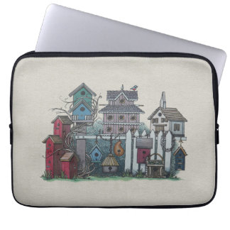 Birdhouse Collection Laptop Sleeves