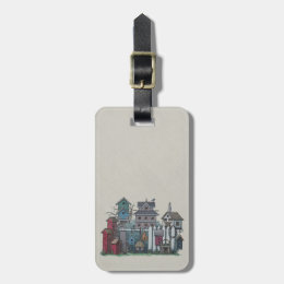 Birdhouse Collection Luggage Tag