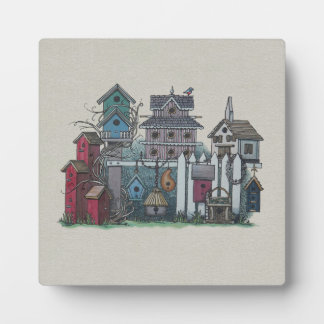 Birdhouse Collection Plaque