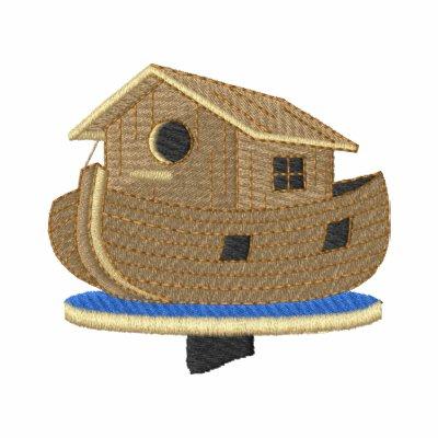 Birdhouse de la arca de Noahs Sudadera Bordada