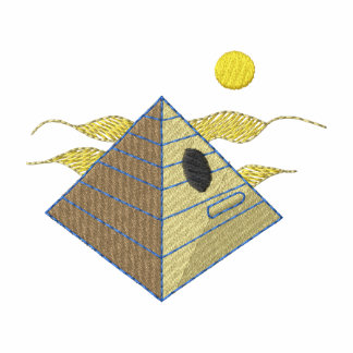 Birdhouse de la pirámide polo bordado