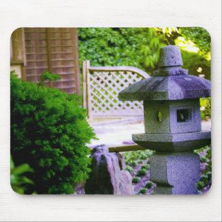 Birdhouse de piedra tapete de raton