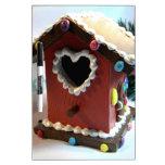 Birdhouse del pan de jengibre pizarras blancas de calidad
