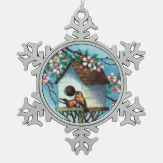 Birdhouse del vintage adornos