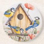Birdhouse Drink Coaster