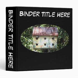 """Birdhouse Edited 1.5"""" Binder"""