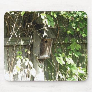 Birdhouse en caída tapetes de raton