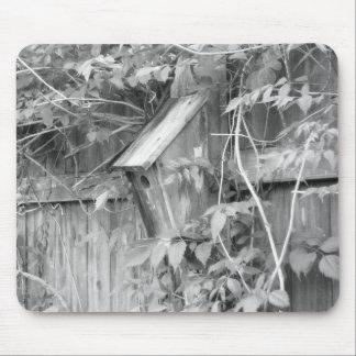 Birdhouse en primavera alfombrillas de ratones