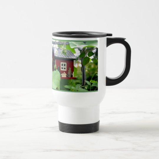 Birdhouse Garden Travel Mug