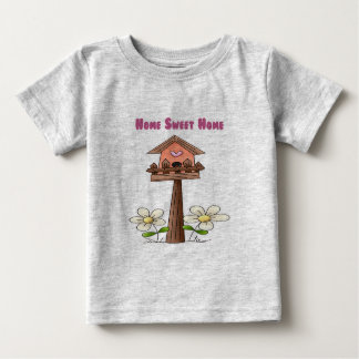 Birdhouse Home Sweet Home Baby T-Shirt