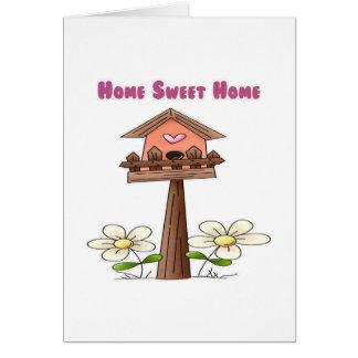 Birdhouse Home Sweet Home Card