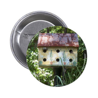 Birdhouse in the Sun Pinback Button
