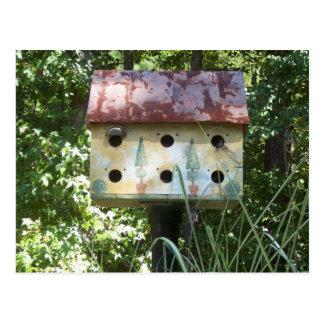 Birdhouse in the Sun Postcard