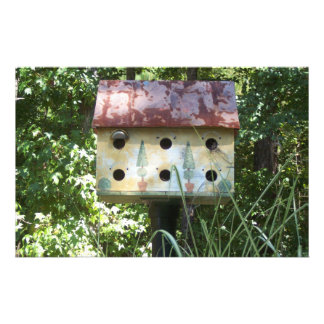 Birdhouse in the Sun Stationery