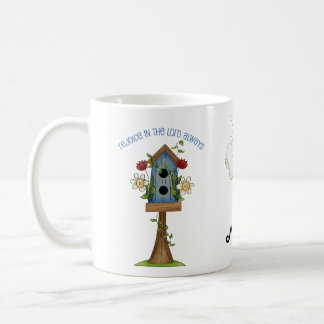 Birdhouse Love Country Prim Collection Coffee Coffee Mug