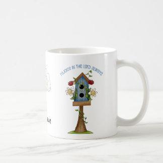 Birdhouse Love Country Prim Collection Coffee Mug