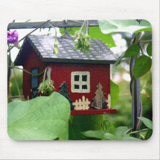 Birdhouse Mousepad Tapete De Ratones