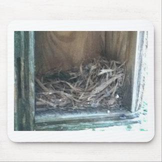 Birdhouse Nest Mouse Pad
