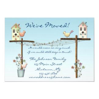 Birdhouse New Address Announcement
