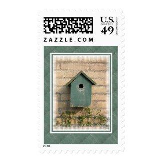 Birdhouse Postage