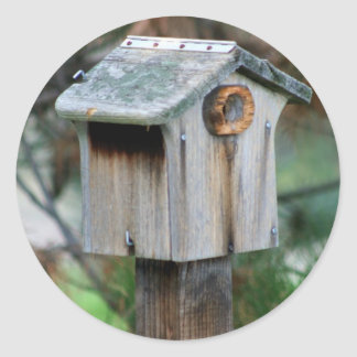 Birdhouse stickers