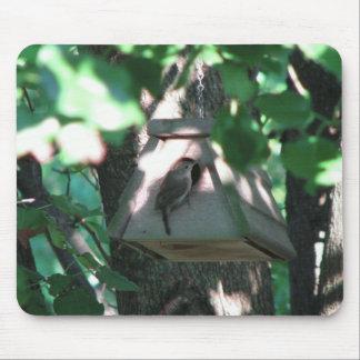 Birdhouse Alfombrillas De Raton