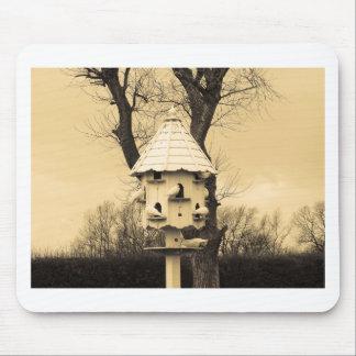 Birdhouse Alfombrillas De Ratón