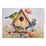Birdhouse Tarjetón