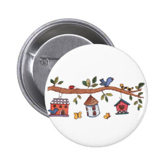 Birdhouses Button