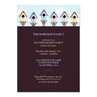 Birdhouses   Housewarming Party Invitation