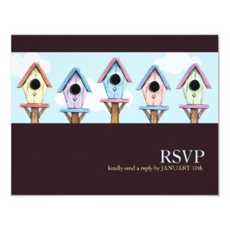 Birdhouses | Housewarming RSVP Card