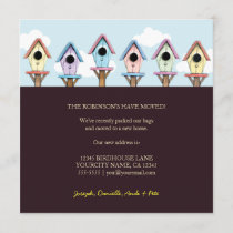 Birdhouses | New Home Announcement