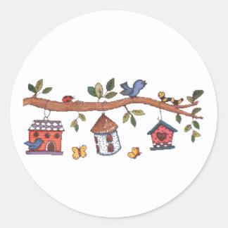 Birdhouses Pegatinas