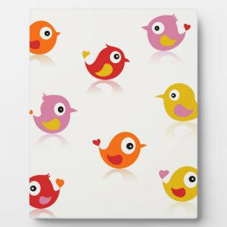 Birdie6 Plaque
