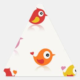Birdie6 Triangle Sticker