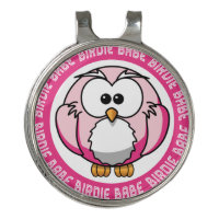 Birdie Babe - Golf Hat Clip And Ball Marker