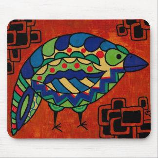 """""""Birdie Boo"""" by Lara Kulpa Mouse Pad"""