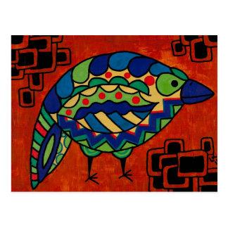 """Birdie Boo"" by Lara Kulpa Post Cards"