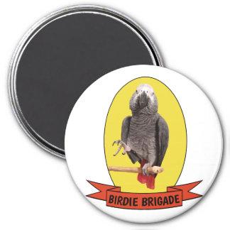 Birdie Brigade Yellow Einstein Parrot Fandom Magnet